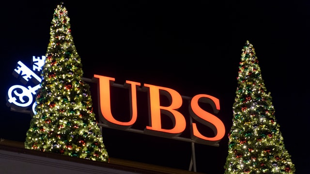 Il signet da la banca UBS.