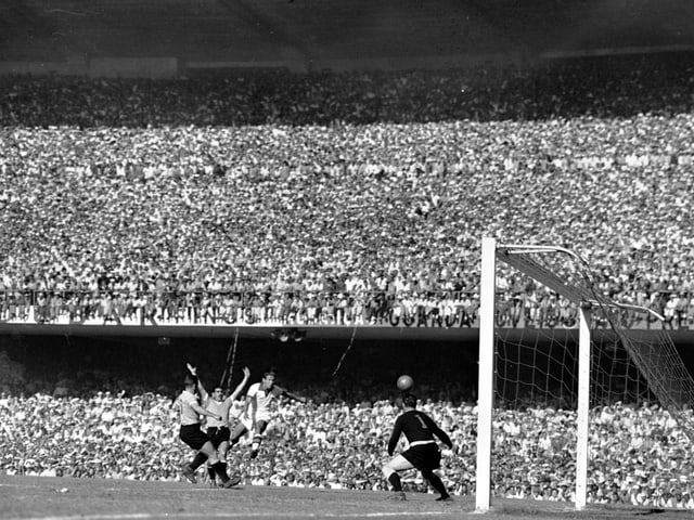 200'000 Fans wohnten dem Geschehen im Maracanã-Stadion bei.