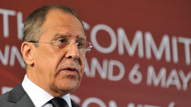Il minister da l'exteriur russ, Sergej Lawrow.