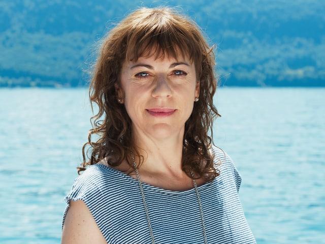 Porträt Sabine Boss.