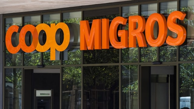 Logo Coop e Migros.