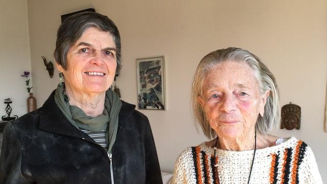 Zwei Frauen: Beatrice Alder und Louise Stebler