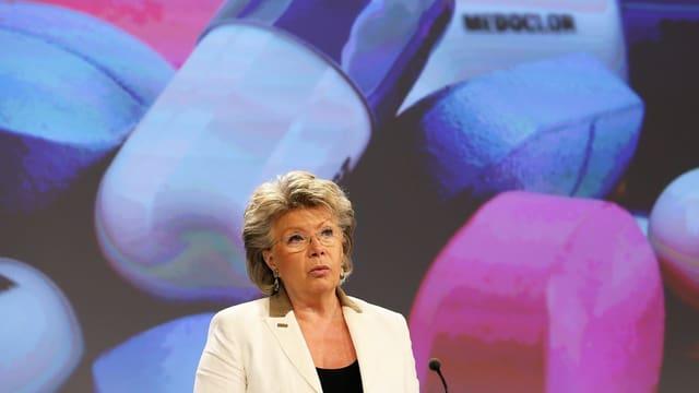 Viviane Reding, Vize-Präsidentin der EU-Kommission.