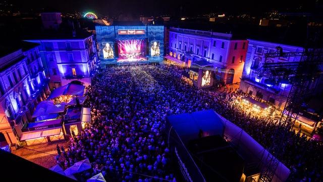 Purtret dal festival a Locarno