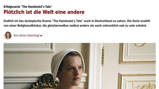 Lob vom deutschen Magazin «Der Spiegel» .