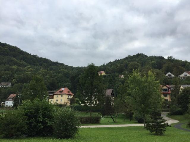 Die Landschaft von Muggendorf.