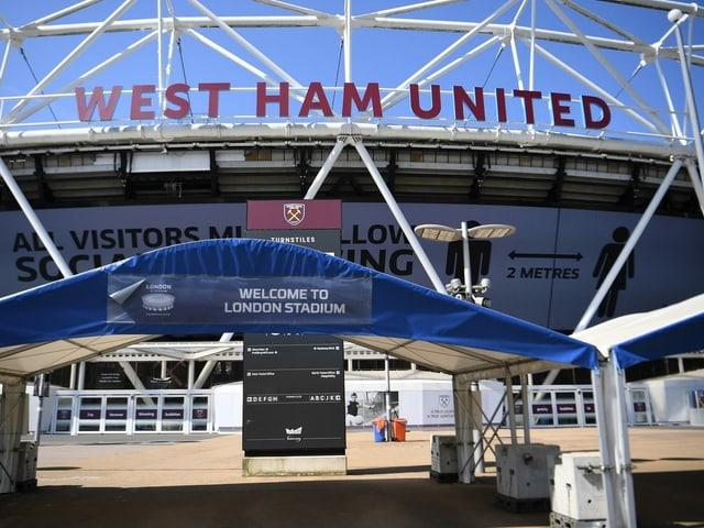 Stadion von West Ham United