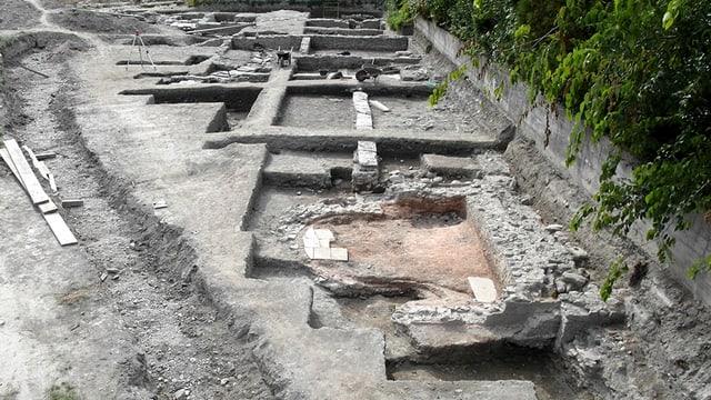 Eine Ausgrabungsstätte