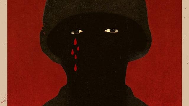 Ausschnitt des gemalten Filmplakats von «Da 5 Bloods».