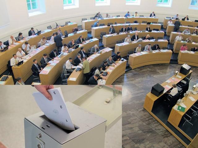 Parlament und Urne