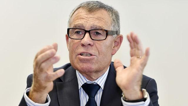 Ernst Stocker (SVP), Zürcher Finanzdirektor und Präsident der kantonalen Finanzdirektoren