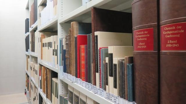 Bücher im Staatsarchiv des Kantons Thurgau