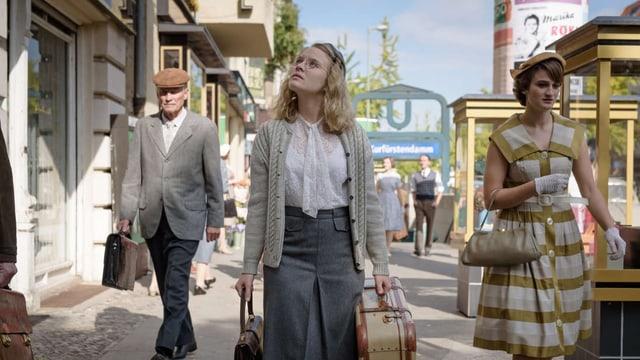 Die schüchterne Rebellin Monika Schöllack (Sonja Gerhardt) in «Ku'Damm 56/59».