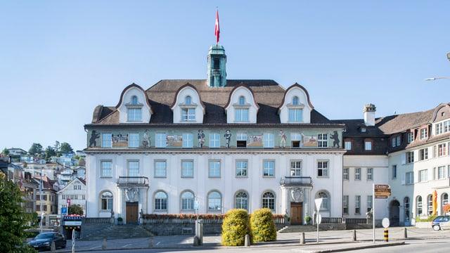 Blick auf das Ausserrhoder Regierungsgebäude.