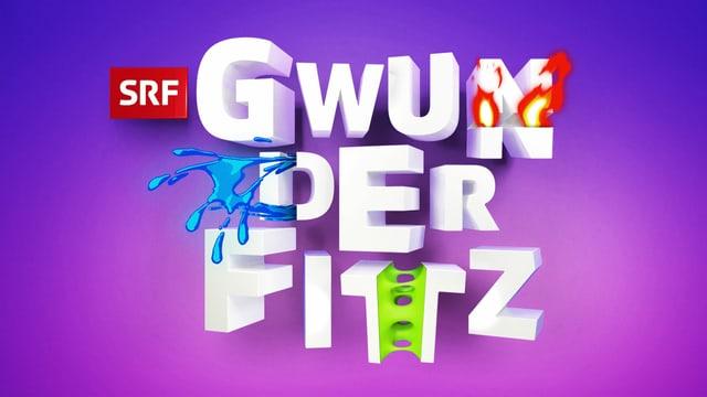 """Logo des Webformats """"Gwunderfitz"""" für Kinder"""