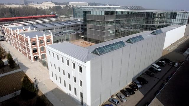 Ehemaliger Merk Serono Hauptsitz in Genf