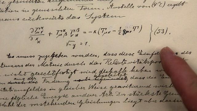 las notizchas originalas cun la teoria da la relativitad.