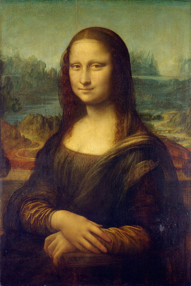 Gemälde Mona Lisa von Leonardo Da Vinci