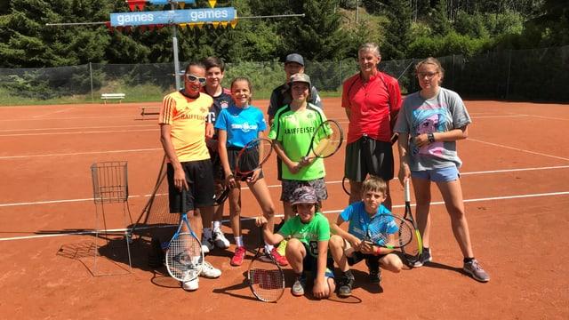 camp da tennis a Mustér