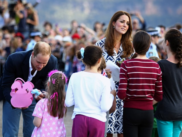 Prinz William und Kate in Winmalee