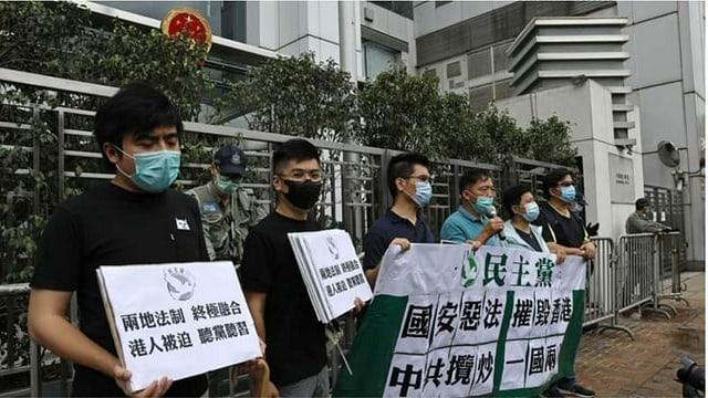 Protestierende