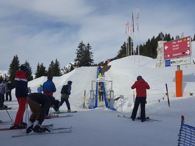Ir la primavaira cun skis ha num levar ad uras.