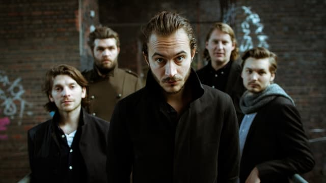 Die fünfköpfige, englische Band Editors.