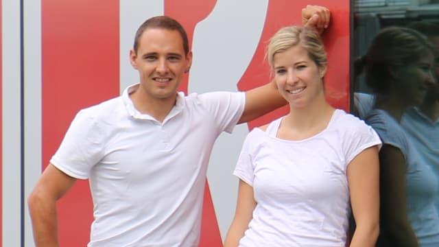 Purtret Andreas Wieland e Marina Morgenthaler