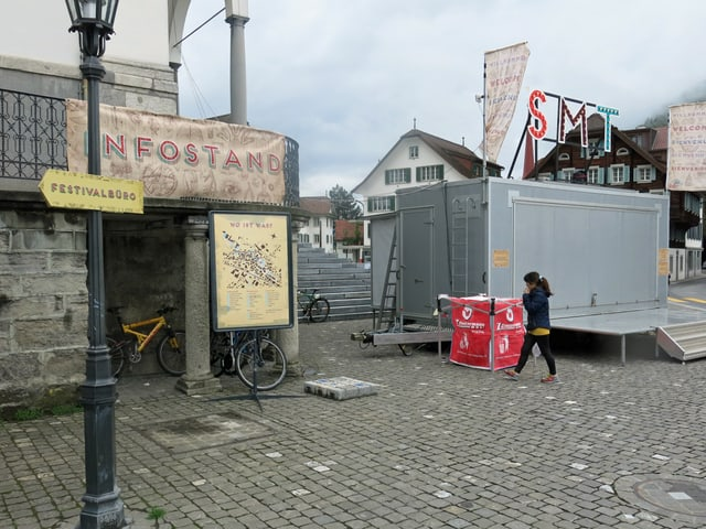 Stanser Musiktage: Das Musikfestival ist im Dorf allgegenwärtig.
