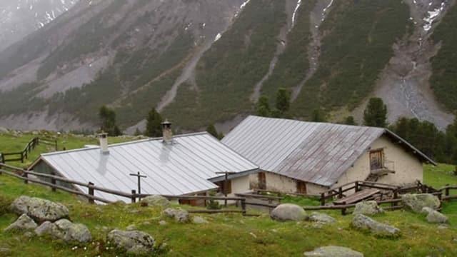 L'Alp Sprella en la en Val Müstair.