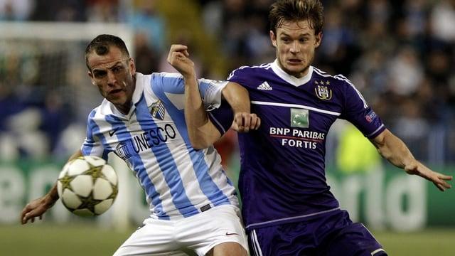 Die Auftritte von Malaga in der Champions League (hier gegen Anderlecht) sind für ein Jahr passé.