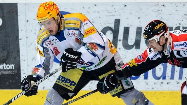 Marc-Antoine Pouliot (l.) und Shawn Heins.