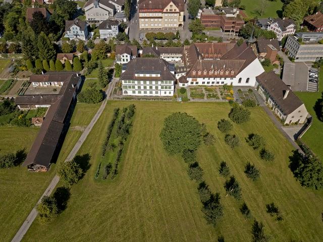 Luftaufnahme Kloster
