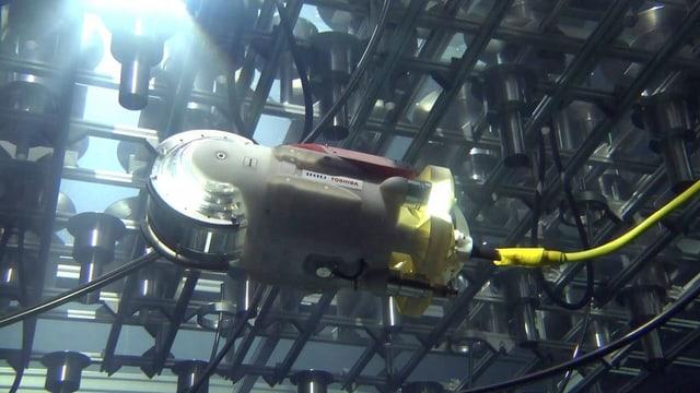 Roboter unter Wasser