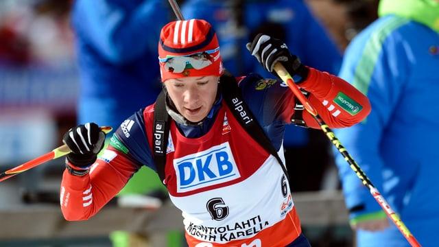 Biathletin Olga Saizewa.