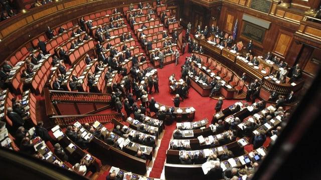 sala dal parlament talian