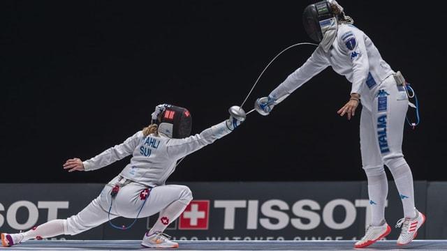 Laura Stähli stach an den Weltmeisterschaften fast alle Gegnerinnen aus.