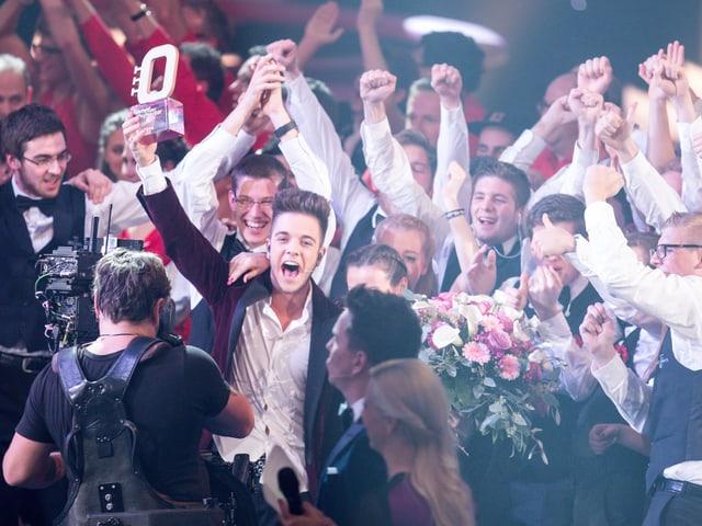 Die BML Talents und Luca Hänni gewinnen den «Kampf der Orchester» .