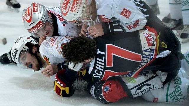 Kampf auf dem Eis.