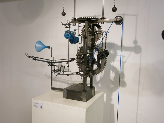 Maschine mit Zahnrädern.