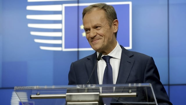 Donald Tusk, il president dal Cussegl da l'Europa.