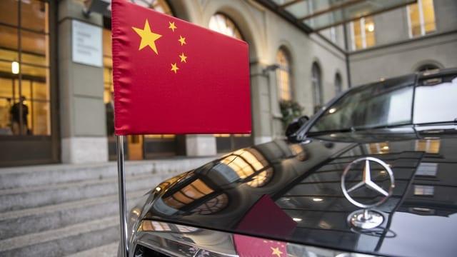 Chinesischer Staatsbesuch in Bern