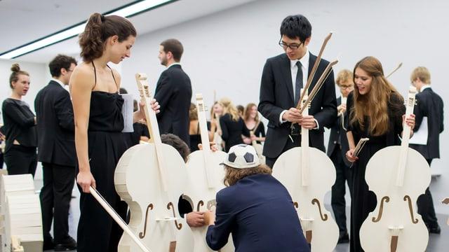 Video «Das Beethoven-Experiment - Absturzgefahr am Lucerne Festival6» abspielen