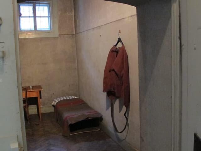 Eine der vier Arrestzellen im historischen St. Galler Polizeiposten.