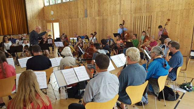 Las musicantas e musicants al lavuratori a Tschlin