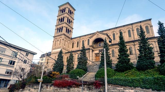 Könnte dereinst zum Sitz des Bischofs von Zürich werden: Die Liebfrauenkirche beim Central in Zürich.