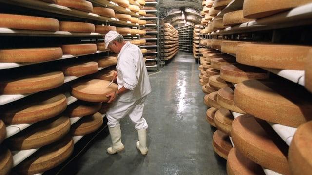 2019 wurde mehr Käse exportiert