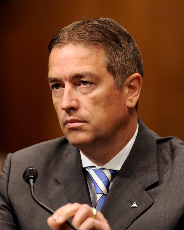 Martin Liechti bei einer Anhörung vor einer US-Senats-Subkommission.