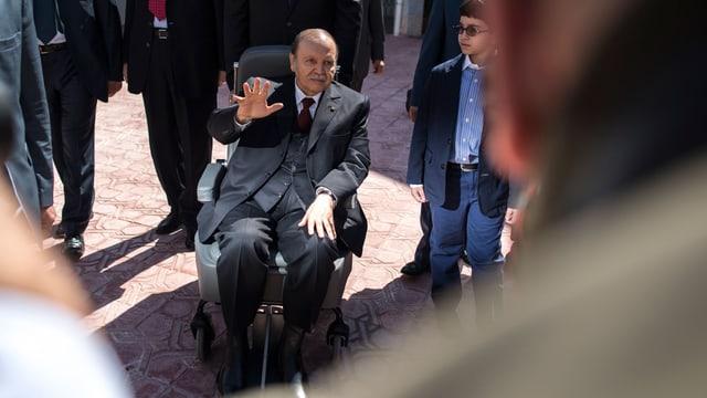 Algeriens neuer Präsident Abdelaziz Bouteflika.
