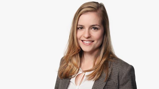 Moderatorin Katharina Locher, Porträt